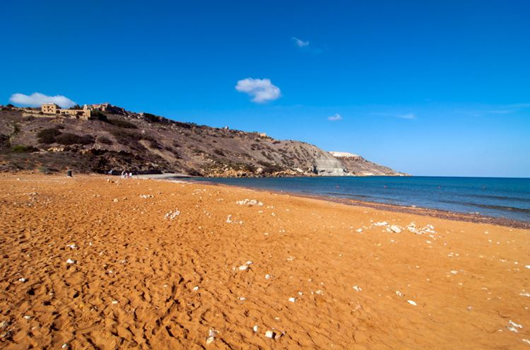 Мальта, пляж Рамла Бэй