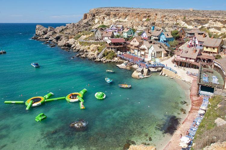 Мальта, Анкор Бэй - пляж Попая