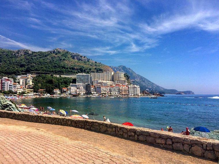 Лучшие пляжи Черногории: Бечичи