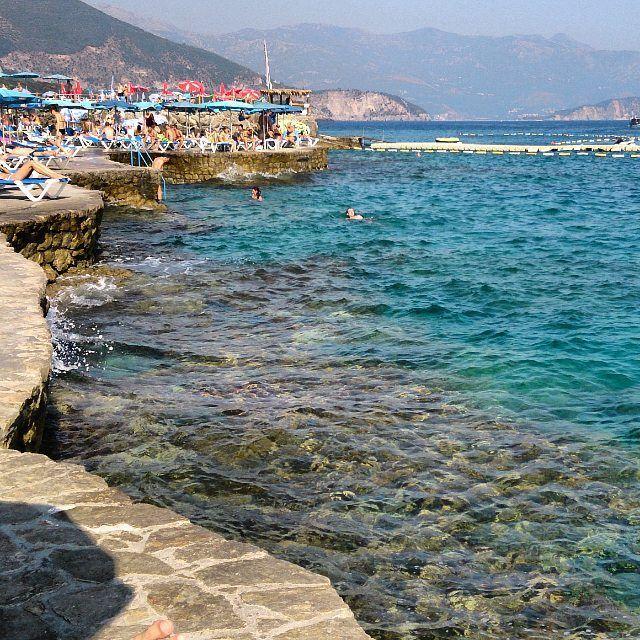 Лучшие пляжи Черногории: каменистый берег Плоче