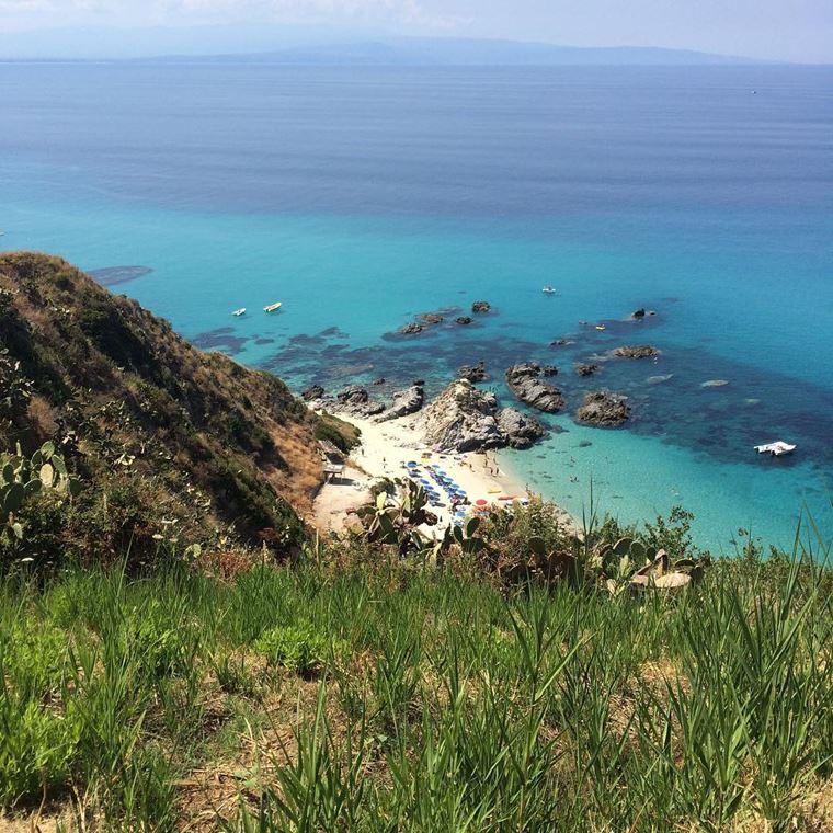 Лучшие пляжи Калабрии: Капо Ватикано