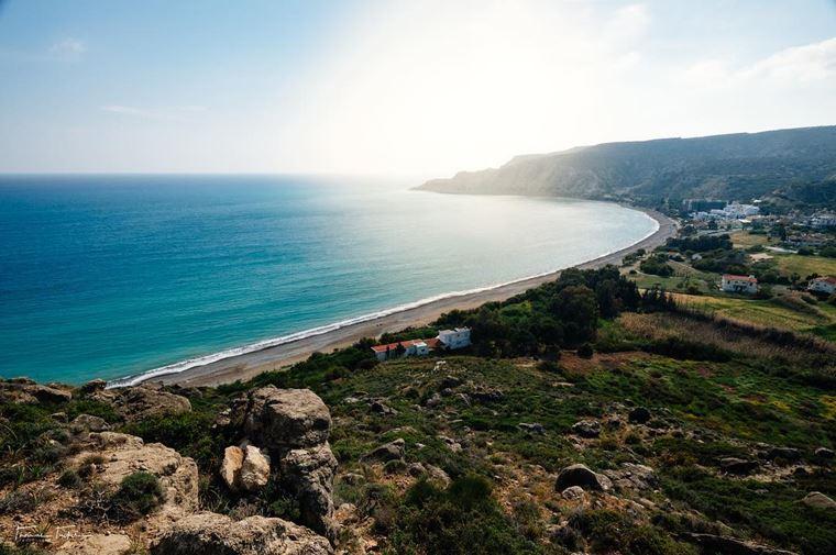 Лучшие пляжи Кипра: береговая линия Писсури