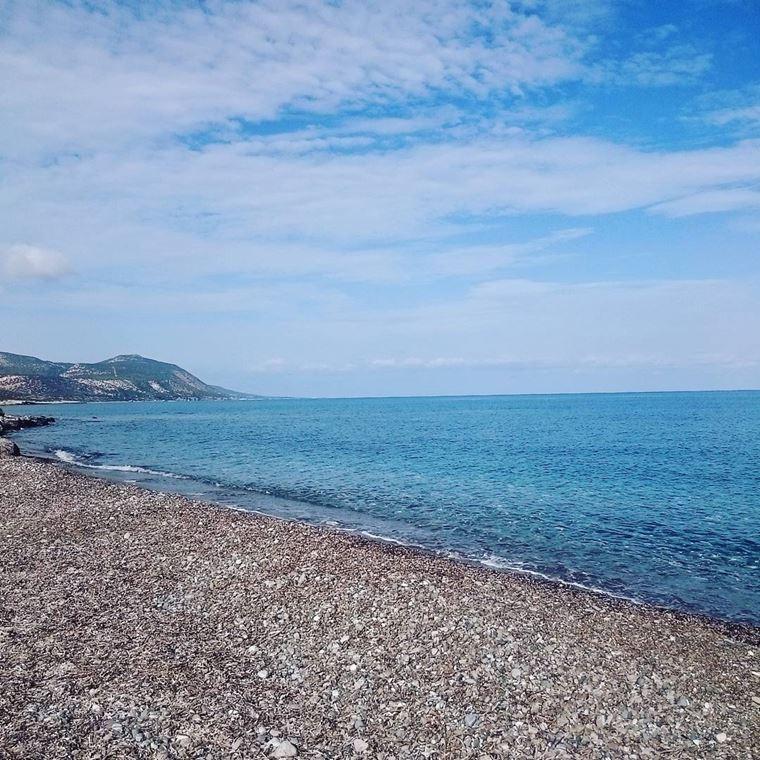 Лучшие пляжи Кипра: галечный Лачи