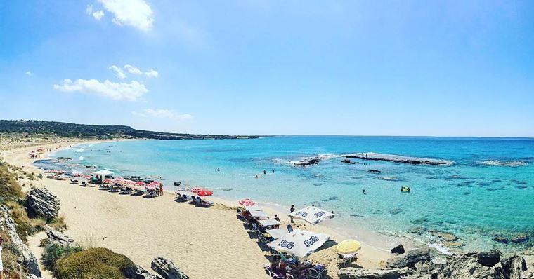 Лучшие пляжи Кипра: песчаный Агиос Филон