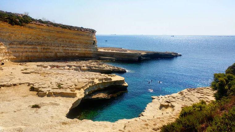Лучшие пляжи Мальты: Бассейн Святого Петра
