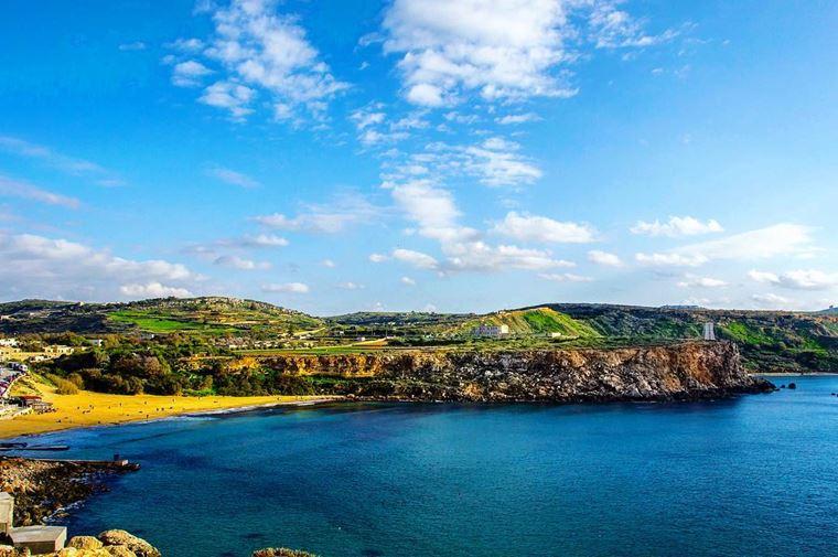 Лучшие пляжи Мальты: Голден Бэй