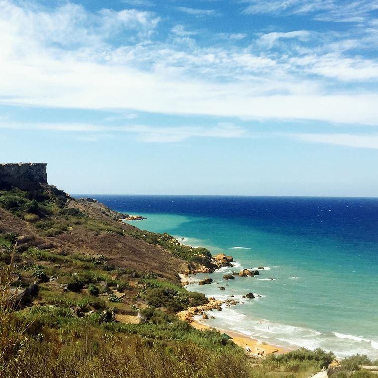 Лучшие пляжи Мальты: Сан-Блас Бэй