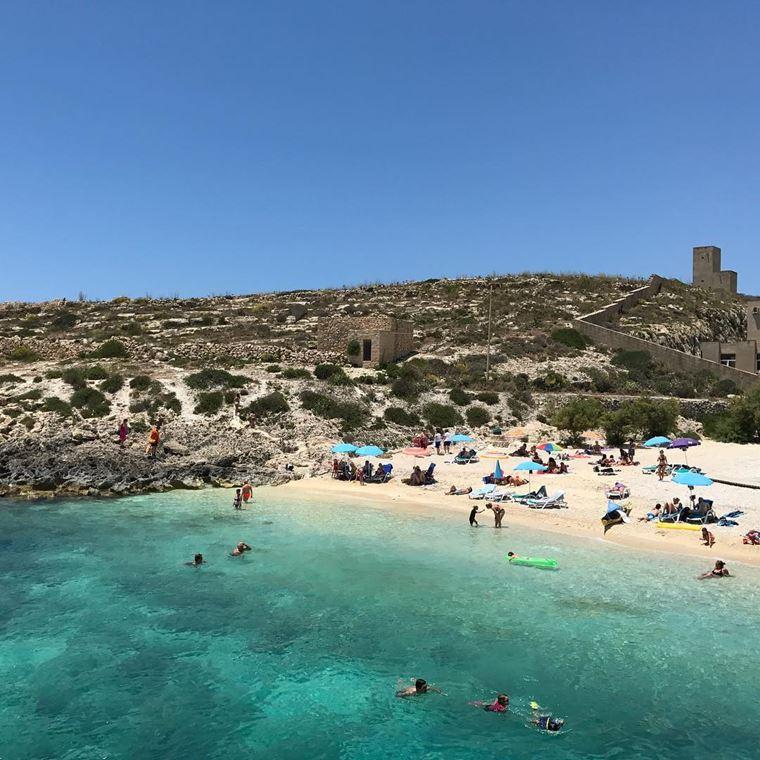 Лучшие пляжи Мальты: Хондок ир-Румин