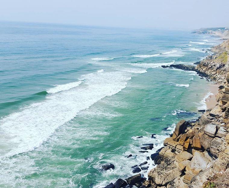 Лучшие пляжи Португалии: Прайя-да-Азенья-ду-Мар