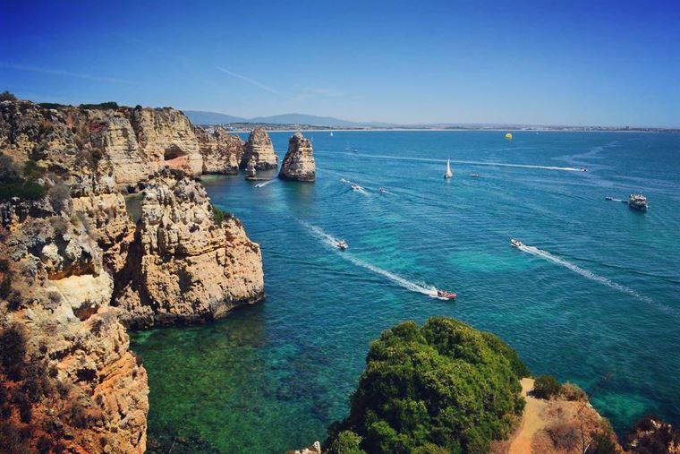 Лучшие пляжи Португалии: Прайя-ду-Камилу