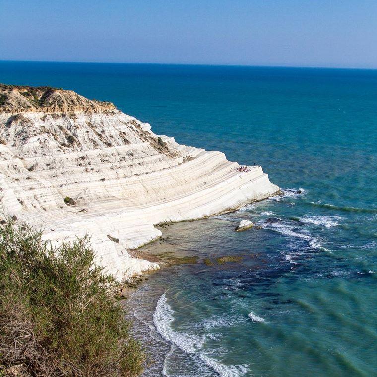 Лучшие пляжи Сицилии: Скала деи Турки
