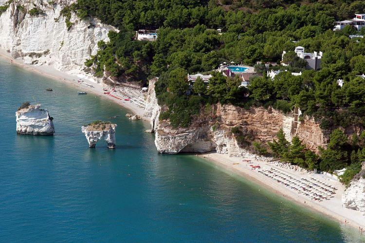 Лучшие пляжи Апулии, Италия (1)