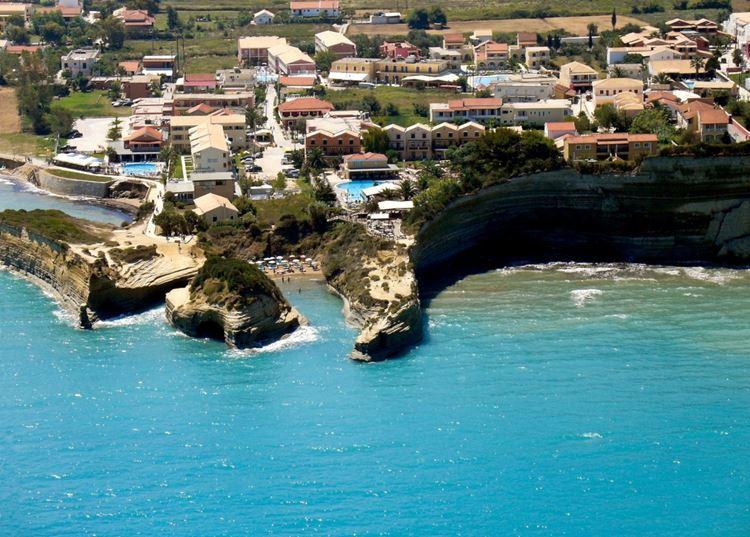 Лучшие пляжи острова Корфу, Греция: Сидари