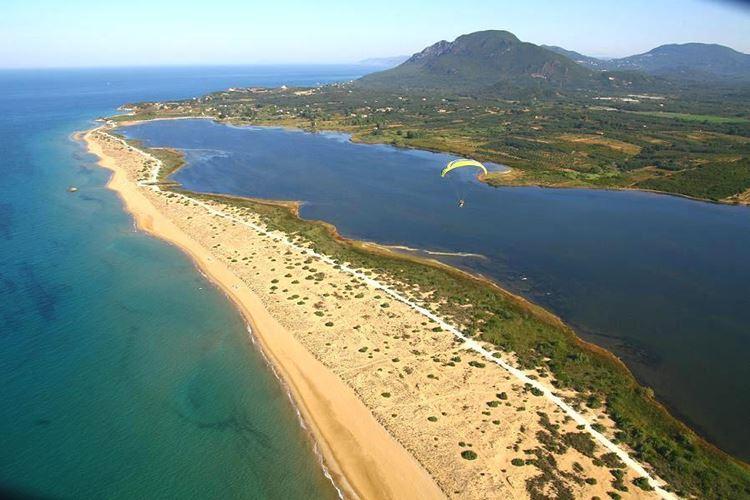 Лучшие пляжи острова Корфу, Греция: Халикунас