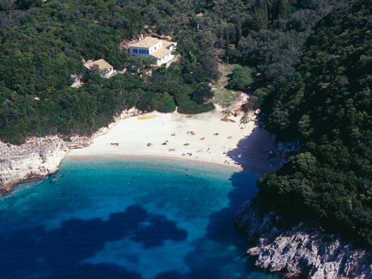 Лучшие пляжи острова Корфу, Греция: Лиападес