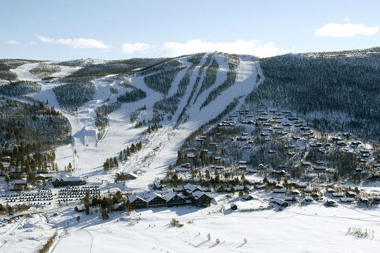 Гейло – известный горнолыжный курорт Норвегии