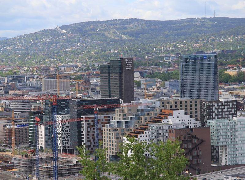 Красивые города Норвегии: Осло