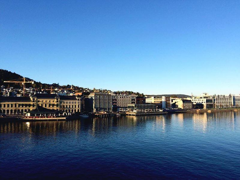 Красивые города Норвегии: Драммен