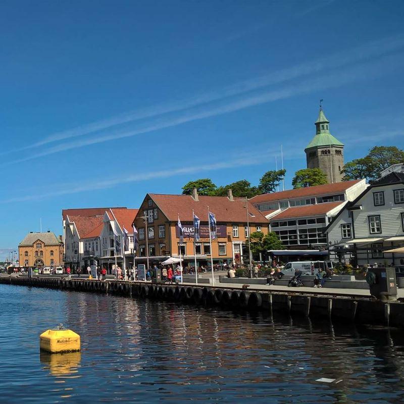 Красивые города Норвегии: Ставангер