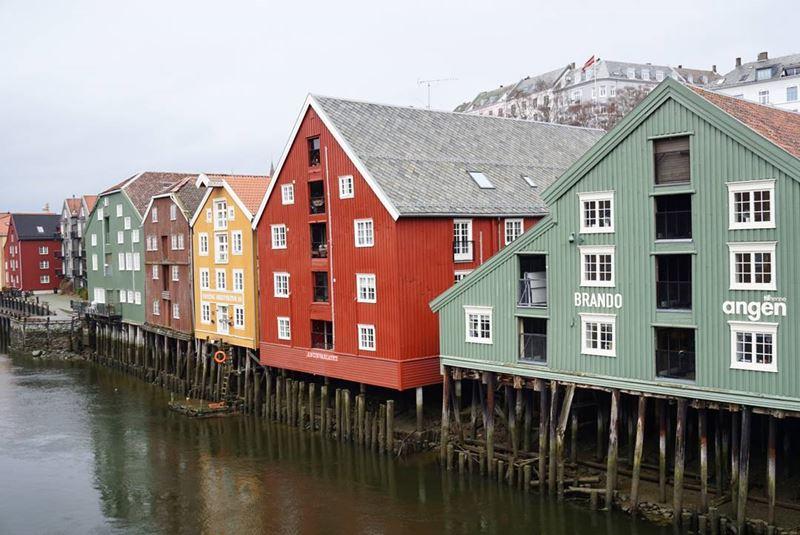 Красивые города Норвегии: Тронхейм