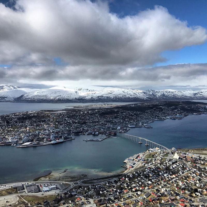 Красивые города Норвегии: Тромсё