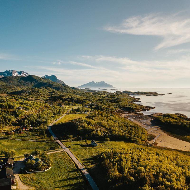 Красивые города Норвегии: Будё
