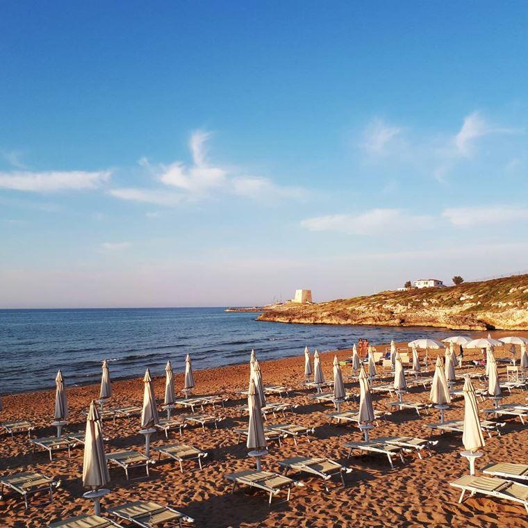 Лучшие пляжи Апулии: Пляж Гусмай