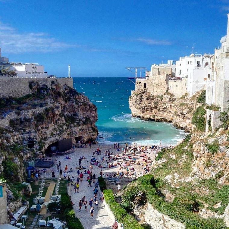 Лучшие пляжи Апулии: Лама Монакиле