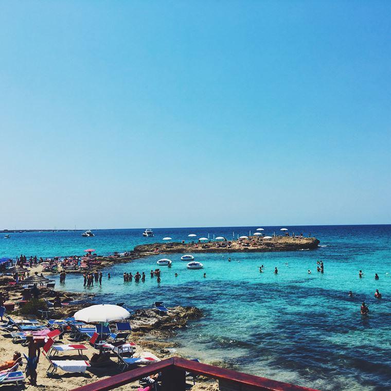 Лучшие пляжи Апулии: Пунта делла Суина
