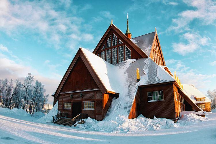 Кируна – самый северный и холодный город Швеции