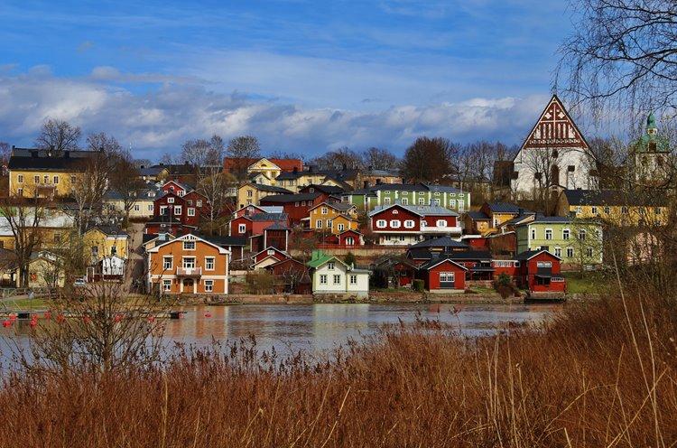Самые лучшие и красивые города Финляндии: Порвоо