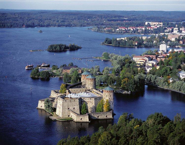 Самые лучшие и красивые города Финляндия: Савонлинна