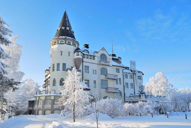 Иматра – маленький спа-курорт рядом с российской границей