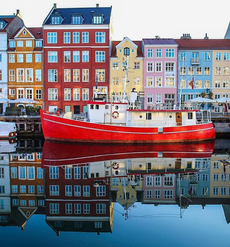 Красивые города Дании: Копенгаген