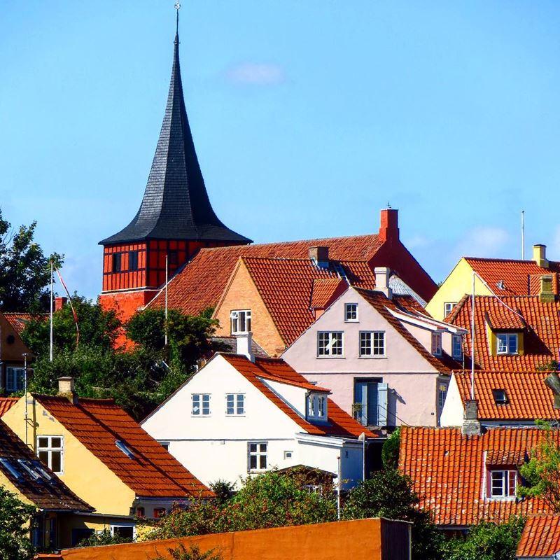 Красивые города Дании: Сванеке