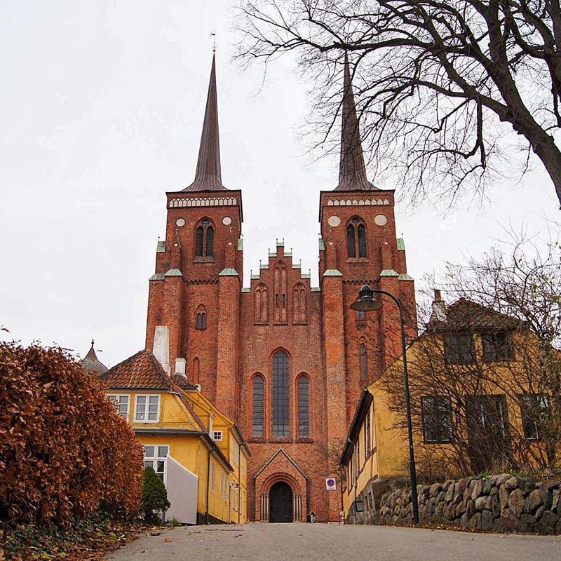 Красивые города Дании: Роскилле