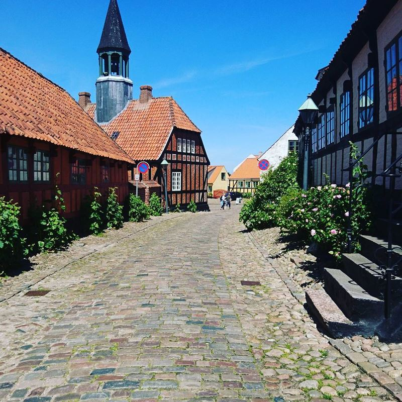 Красивые города Дании: Эбельтофт