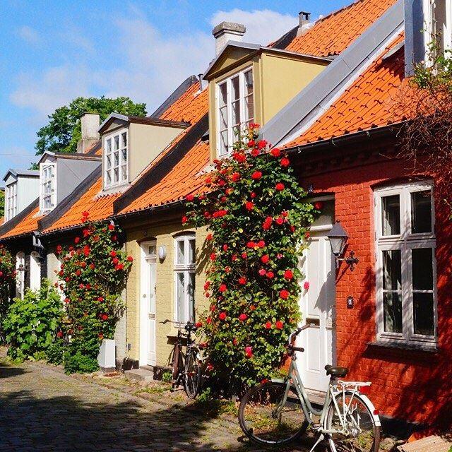 Красивые города Дании: Орхус