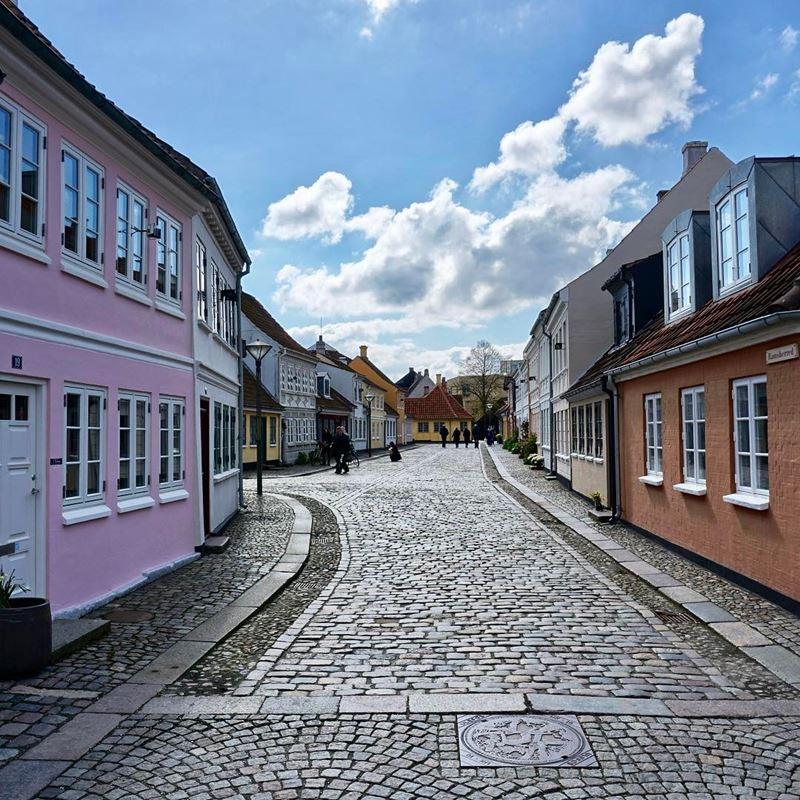Красивые города Дании: Оденсе