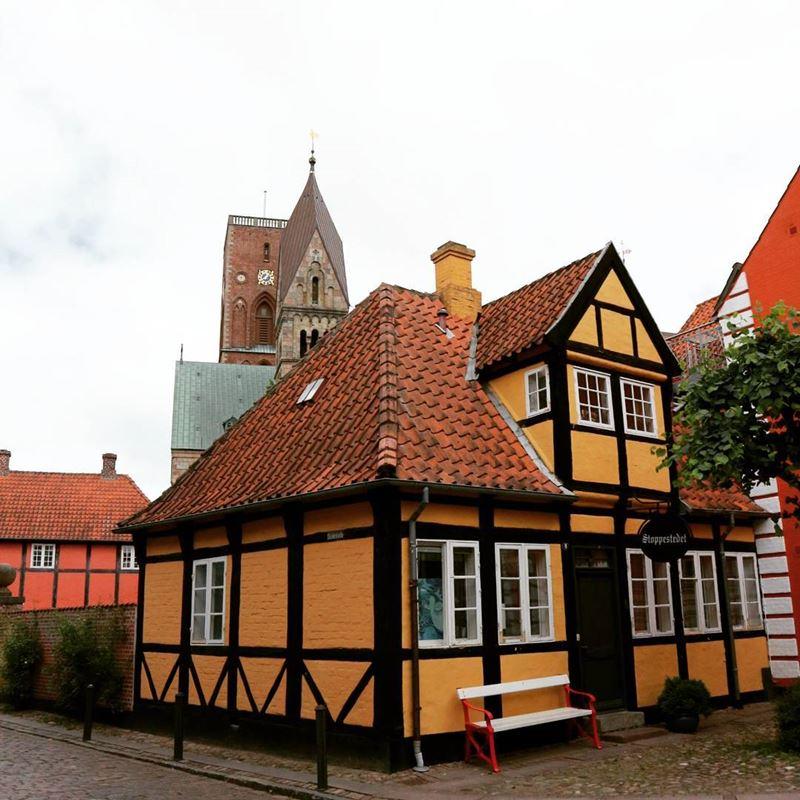 Красивые города Дании: Рибе
