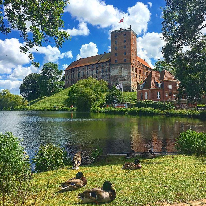 Красивые города Дании: Колдинг