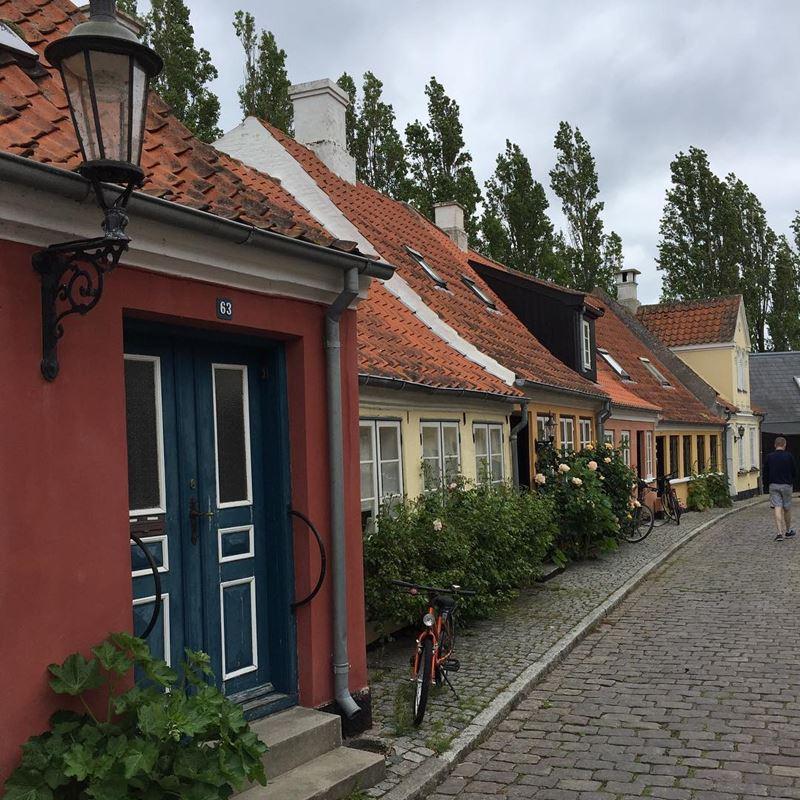 Красивые города Дании: Эрёскёбинг