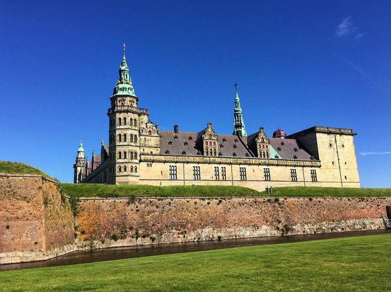Красивые города Дании: Хельсингёр