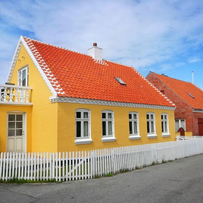 Красивые города Дании: Скаген