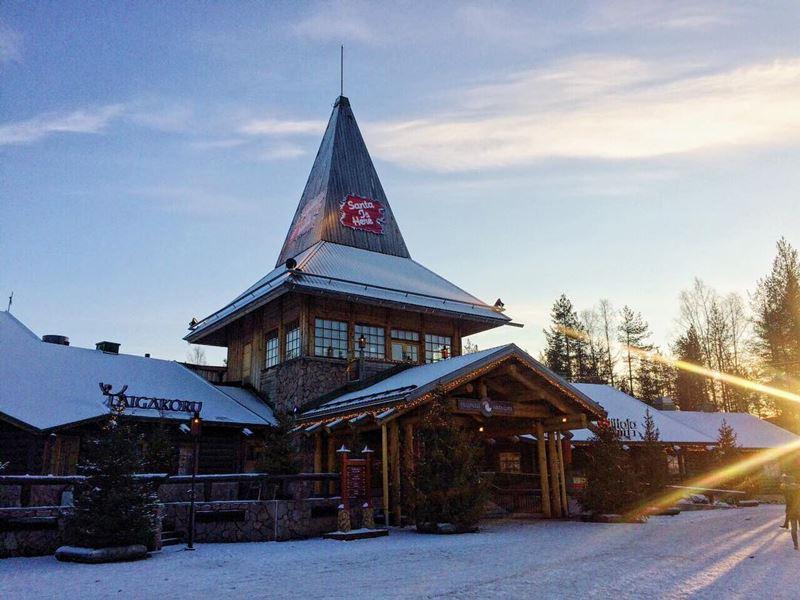 Красивые города Финляндии: Рованиеми