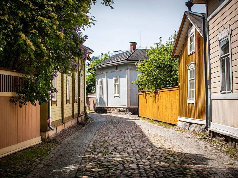 Красивые города Финляндии: Раума
