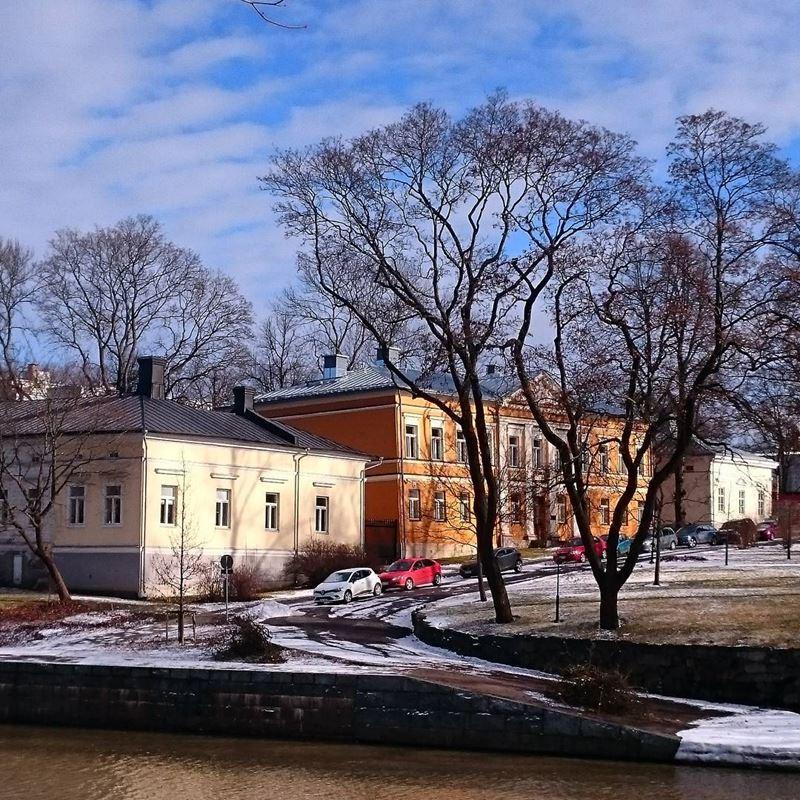 Красивые города Финляндии: Турку