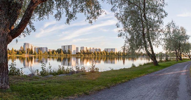 Красивые города Финляндии: Оулу