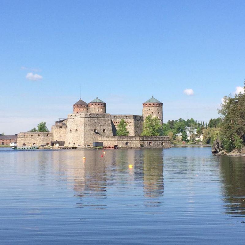 Красивые города Финляндии: Савонлинна