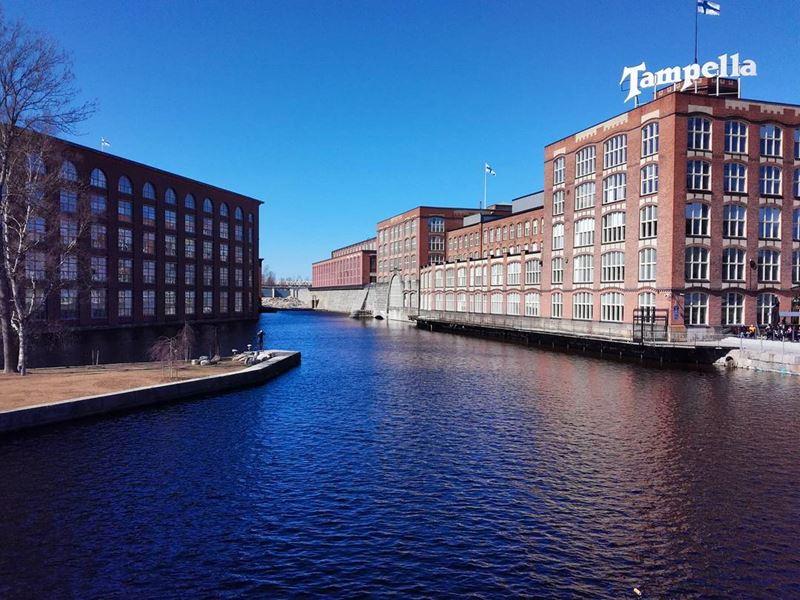 Красивые города Финляндии: Тампере